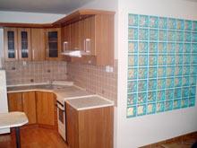 Rekonstrukce bytového jádra kuchyňská linka
