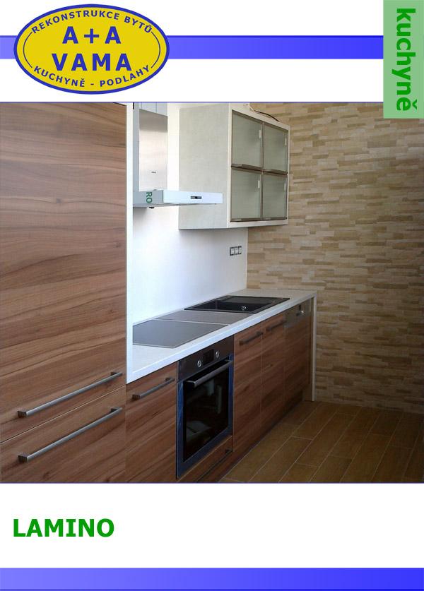 Kuchyně na míru LAMINO