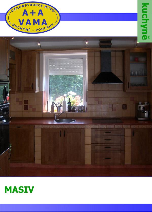 Kuchyně na míru MASIV