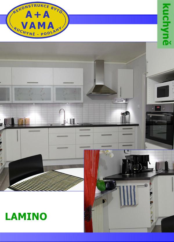 Kuchyně Lamino
